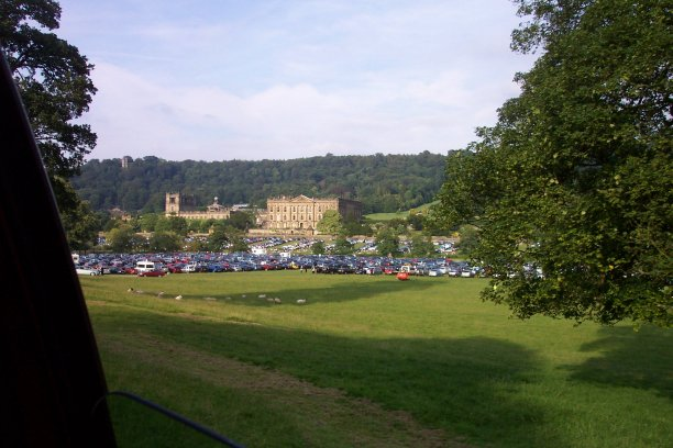 Rhs Chatsworth Car Parks